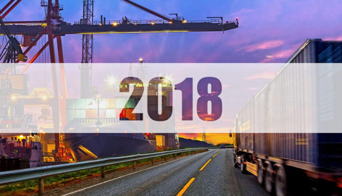 Tendencias logística 2018
